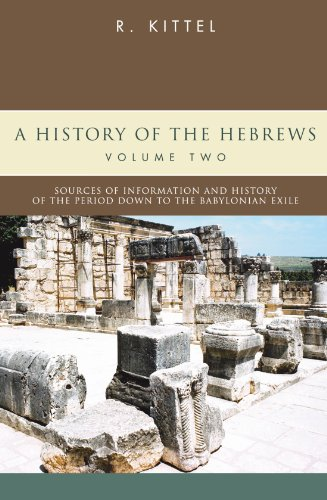 9781597521574: A History of the Hebrews: In Two Volumes