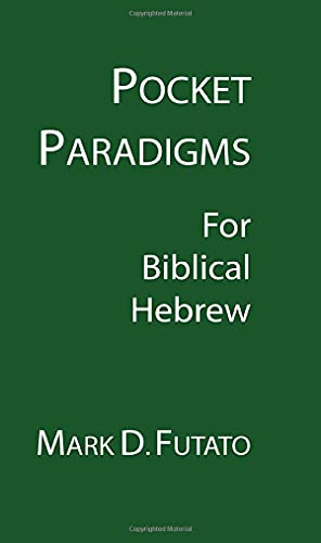 9781597524490: Pocket Paradigms: For Biblical Hebrew