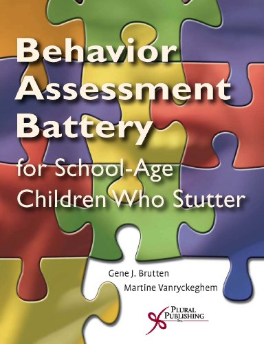 9781597561259: The Behavior Assessment Battery Speech Situation Checklist Section I; Emotional Reaction