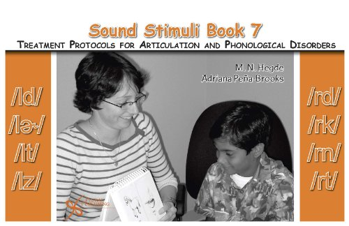 9781597561341: Sound Stimuli for /ld/ /l/ /lt/ /lz/ /rd/ /rk/ /rn/ /rt/: Volume 7 for Assessment and Treatment Protocols for Articulation and Phonological Disorders