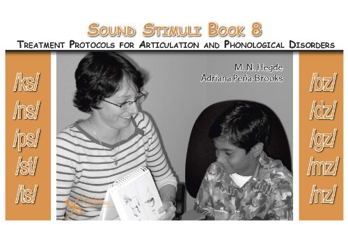 9781597561358: Sound Stimuli for /ks/ /ns/ /ps/ /st/ /ts/ /bz/ /dz/ /gz/ /mz/ /nz/: Volume 8 for Assessment and Treatment Protocols for Articulation and Phonological Disorders