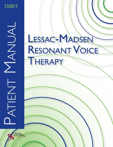 9781597563109: Lessac-Madsen Resonant Voice Therapy: Patient Manual