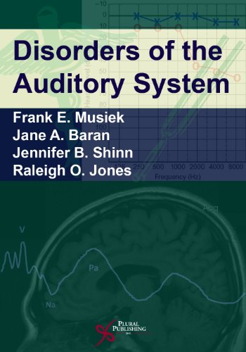 Disorders of the Auditory System: Musiek, Frank E.