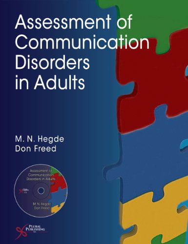 9781597564144: Assessment of Communication Disorders in Adults
