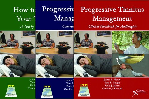 9781597564212: Progressive Tinnitus Management Package (PTM: Clinical Handbook, PTM: Counseling Guide, How to Manage Your Tinnitus)