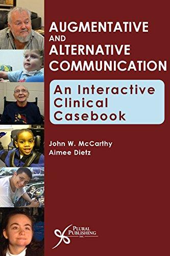 9781597564496: Augmentative and Alternative Communication: An Interactive Clinical Casebook