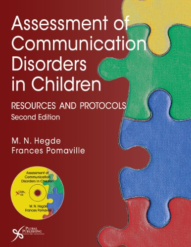 Assessment of Communication Disorders in Children: Resources: M.N. Hedge, Frances