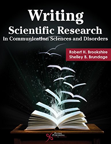 9781597566148: Writing Scientific Research in Communication Sciences and Disorders