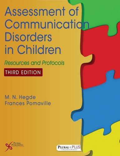 9781597567848: Assessment of Communication Disorders in Children: Resources and Protocols, Third Edition