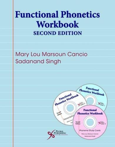 9781597569903: Functional Phonetics Workbook, Second Edition
