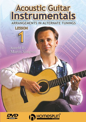 9781597730068: Acoustic Guitar Instrumentals: DVD One: Arrangements in Alternate Tunings