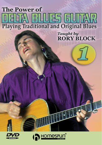 POWER OF DELTA BLUES GUITAR VOL 1 - Format: [DVD M: Block, Rory
