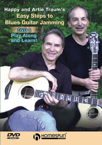 9781597731010: Happy and Artie Traum's Easy Steps to Blues Guitar Jamming: Paly Along and Learn!