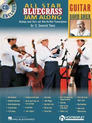 9781597731249: All Star Bluegrass Jam Along: Guitar