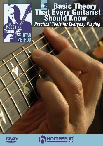 The Happy Traum Guitar Method:ªBasic Theory That Every Guitarist Should Know (1597732826) by Happy Traum