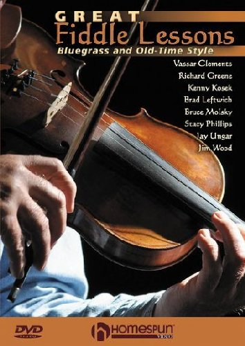 GREAT FIDDLE LESSONS BLUEGRASS DVD