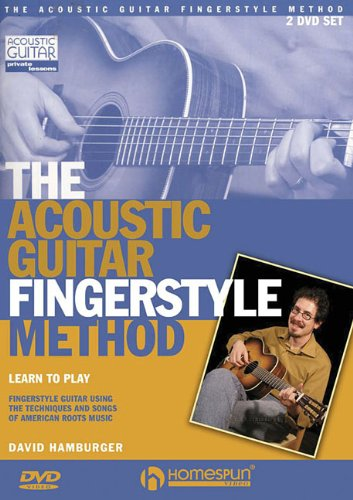 9781597733335: The Acoustic Guitar Fingerstyle Method: Learn to Play Using the Techniques and Songs of American Roots Music Two-DVD Set