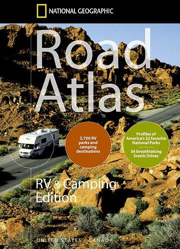 9781597750004: USA/Canada Road Atlas RV and Camping: NG.A.RV+Camp (Atlases)
