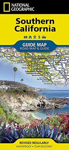 9781597750158: National Geographic 2006 Southern California Guide Map, Road Map, & Travel Guide (National Geographic GuideMaps)