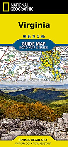 Virginia: National Geographic Maps