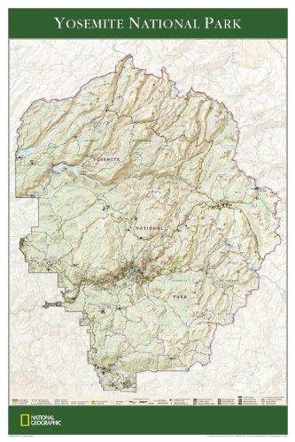 9781597750790: Yosemite National Park Poster, Laminated (Reference - History & Nature)
