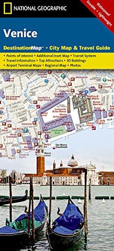 9781597750899: Venice (National Geographic Destination City Map)