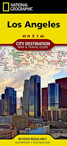 9781597750929: National Geographic Destination City Map Los Angeles: California
