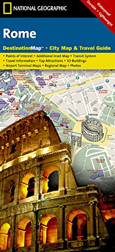 Rome Destination City Maps By National Geographic Maps National - Maps of us and anchent rome