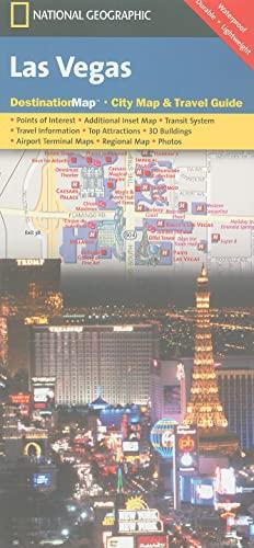 9781597751926: Las Vegas (National Geographic Destination City Map)