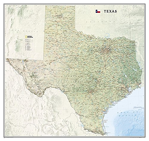 Texas [Tubed] (National Geographic Reference Map): National Geographic Maps