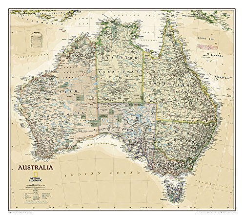 9781597752671: Australia Executive [Tubed] (National Geographic Reference Map)