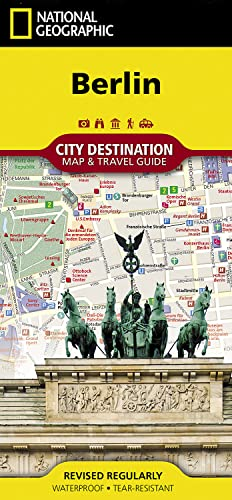 9781597753104: Berlin (National Geographic Destination City Map)