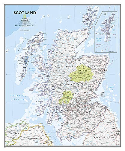 9781597753609: Scotland Classic [Tubed] (National Geographic Reference Map)