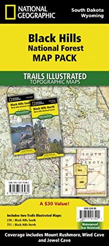 9781597753982: Black Hills National Forest [Map Pack Bundle ...