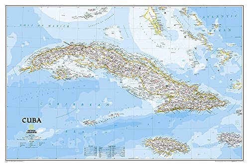 9781597754385: Cuba Classic, Laminated: Wall Maps Countries & Regions (National Geographic Reference Map)