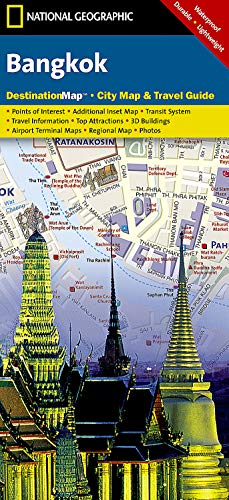 9781597754583: Bangkok (National Geographic Destination City Map)