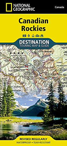Canadian Rockies: Destination Map