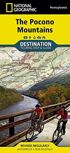 9781597755306: Pocono Mountains (National Geographic Destination Map)