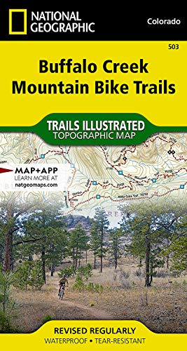 9781597756204: Buffalo Creek Mountain Bike Trails (National Geographic Trails Illustrated Map)