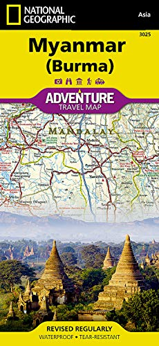 9781597756235: Myanmar (Burma) : 1/1 480 000 (Adventure Map)