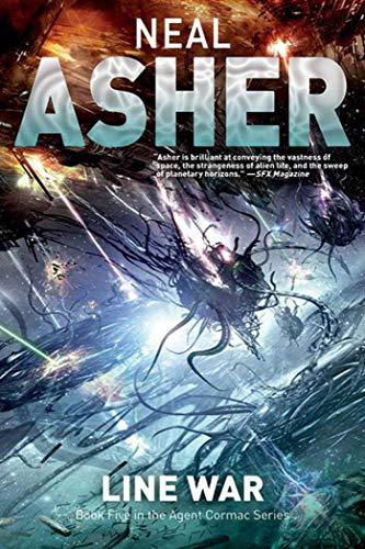 9781597805285: Line War: The Fifth Agent Cormac Novel