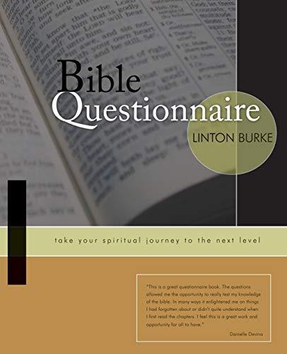 9781597818667: Bible Questionnaire