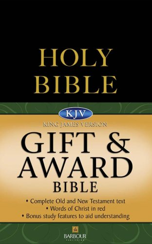 9781597895156: KJV Gift & Award Bible - Black (King James Bible)