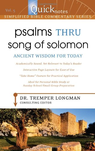 9781597897716: Quicknotes Simplified Bible Commentary Vol. 5: Psalms thru Song of Solomon (QuickNotes Commentaries)