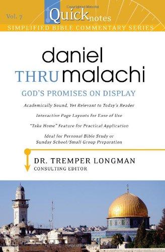 Quicknotes Simplified Bible Commentary Vol. 7: Daniel: Dr. Tremper Longman