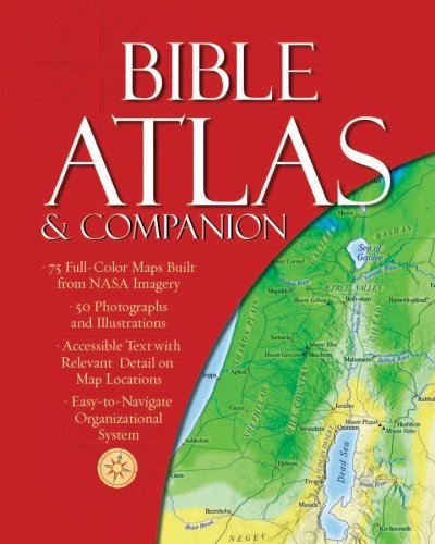 9781597897792: Bible Atlas & Companion