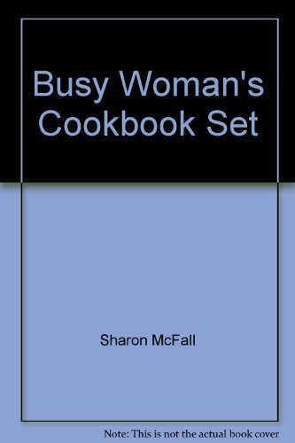 9781597953771: Busy Woman's Cookbook Set