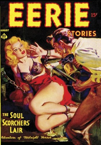Eerie Stories - August 1937: Ronald Flagg; Norman