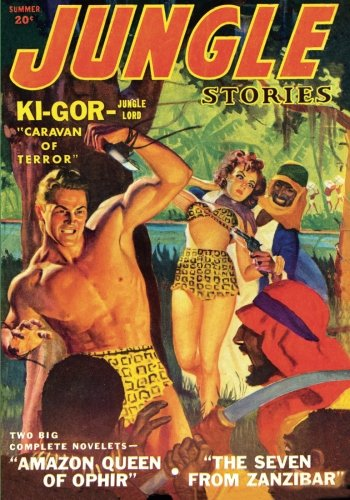 9781597983389: Jungle Stories - Summer/43: Adventure House Presents: