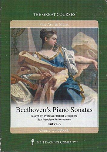 9781598030167: Beethoven's Piano Sonatas (Great Courses, 3 Volume Set)